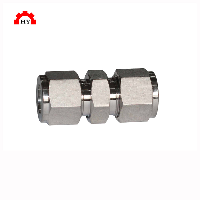 "High quality stainless steel 304 1/8"" to 1"" compression fittings"