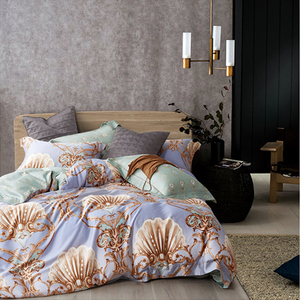 China factory quality tencel custom printed your own duvet cover
