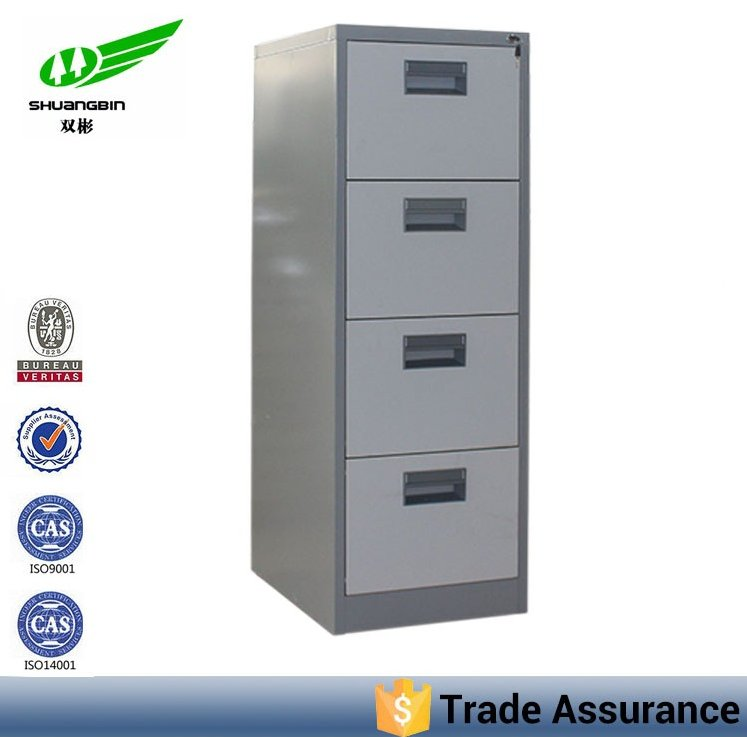 steel filing cabinet/4 drawer metal filing cabinet/office furniture in luoyang