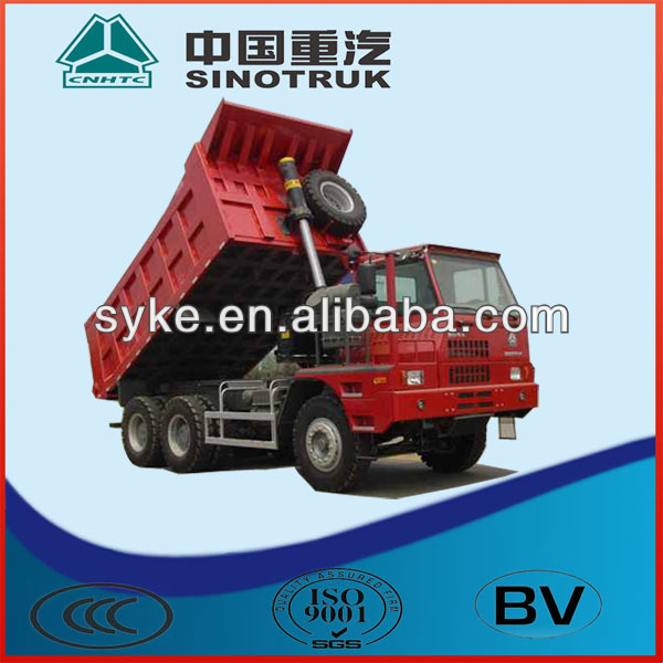 Sinotruck 60 tons Mining dump truck for sale
