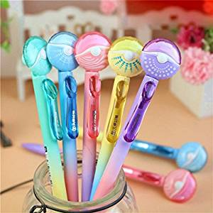 Katoot@ 6pcs/lot Flying disk mechanical pencil for writing Candy color 0.5mm 0.7mm automatic pencil cute stationery office school supply