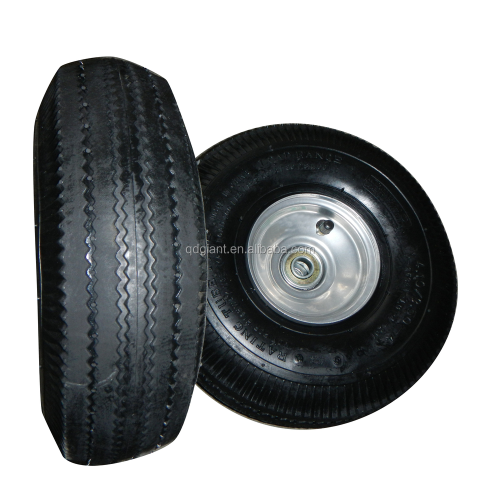 "10""x3.50-4 Air tyre for trolley"