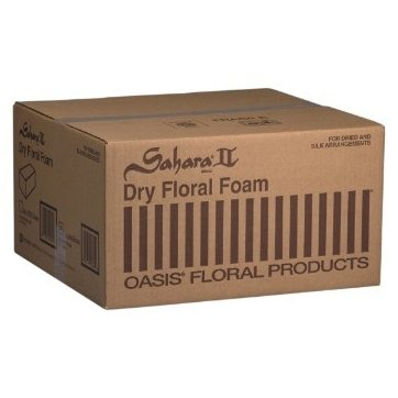 Oasis® Sahara II® Dry Floral Foam (Case of 20 Bricks)