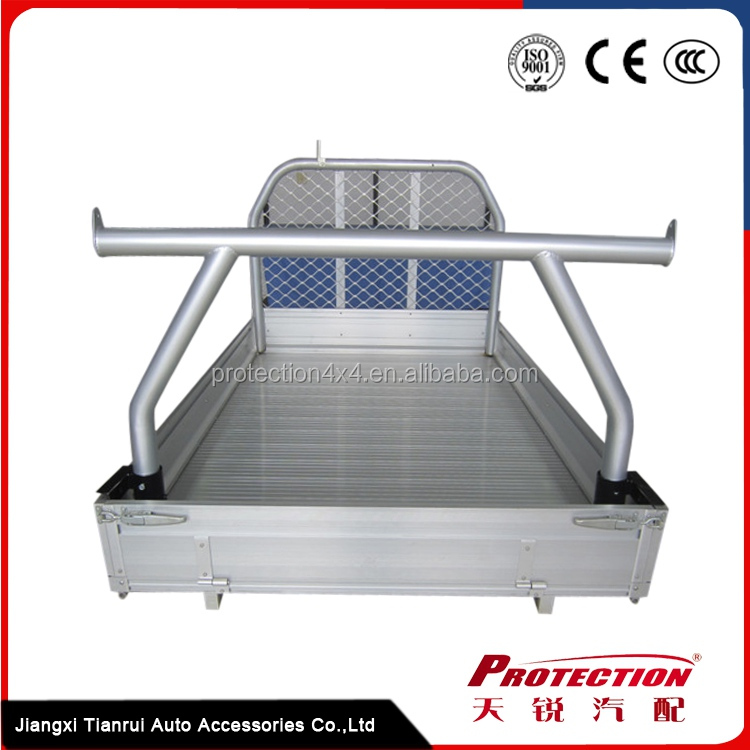 Universal UTE Trays Aluminium Rear Ladder Rack for Pick Up Truck 3 inch one piece Style