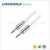 Linkworld aluminum shell audio cable 3.5mm stereo cable