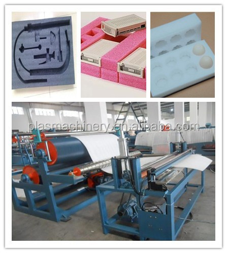 Full Production Line PE Foam All kinds of Fix Location Packaging Material Making Machinery