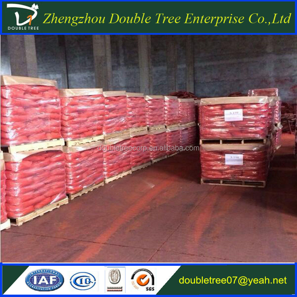 Factory of fine red iron oxide powder 130 for interlock