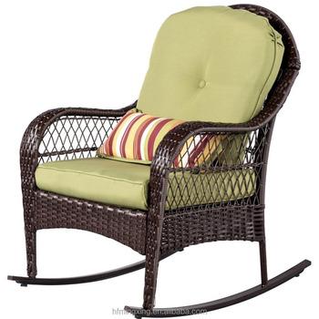 Rotin Extrieur Chaise Berante En Plein Air Patio Cour Meubles Tous Temps Avec