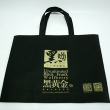 black non woven carrying bags drink carry bag with fine quality