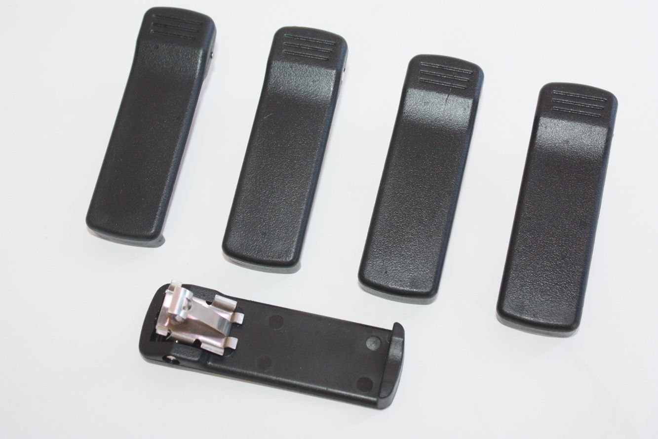 Beaney 5 pcs Belt Clip for Motorola 2 Way Radio HT1000 JT1000 MTX8000 MTX9000 MT2000 MTS2000