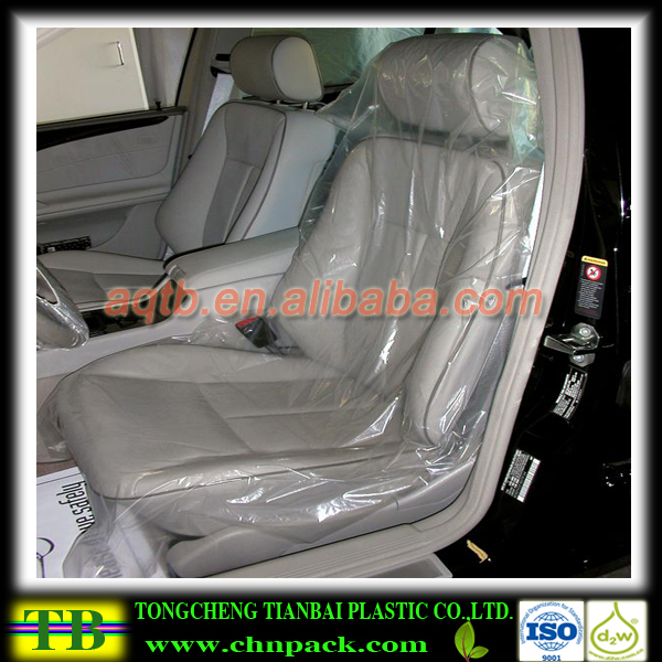 Custom Clear Plastic Car Seat Covers