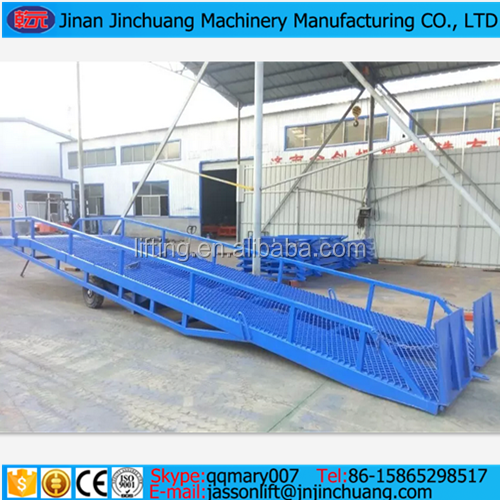 6t, 8t, 10t mobile hydraulic ramp lift for truck