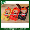 Cute 2013 design little red ridinghood girl 3d silicone cell phone case for iphone4/4s/5