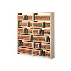 Tennsco 1276ACSD Snap-Together Six-Shelf Closed Add-On, Steel, 36w x 12d x 76h, Sand
