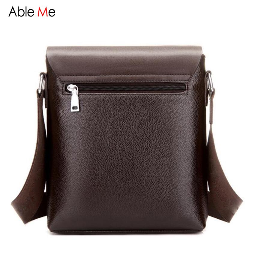9117f38f7e Wholesale Ableme Business Men Leather Messenger Bag Multifunction ...