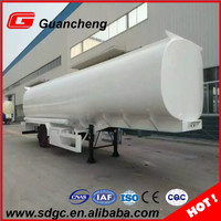 High quality fuel tank trailer price aluminum fuel tanks semi-trailer truck for sale