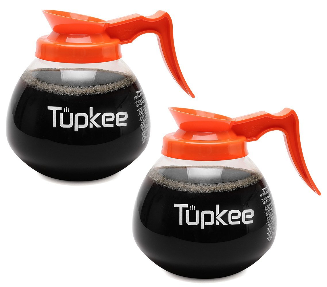 42401.0101 BUNN 12-Cup Glass Coffee Decanter Orange