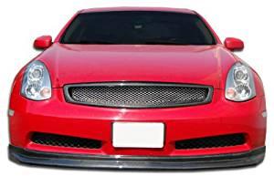 2003-2007 Infiniti G Coupe G35 Carbon Creations D-Spec Front Lip Under Spoiler Air Dam (non sport) - 1 Piece
