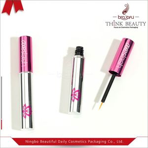 Hot Sale Black Empty Eye Mascara and Eyelash Tube Container Cosmetics Packaging