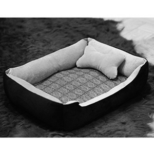 Customized popular best quality doghouse dog bed