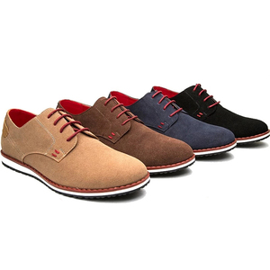 NEW 2016 Suede European style Men's oxfords Casual Shoes