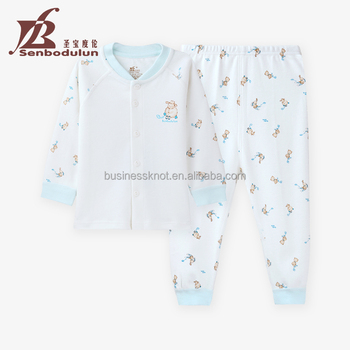 Senbodulun Baby Bodysuit Clothes Baby Matching Sets 100% Cotton