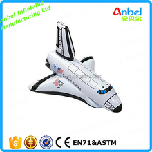 Anbel Realistic Airplane Shape Children Pool Floating Toy Inflatable Space Shuttle Rocket Toy Party Decoration
