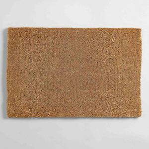 Outdoor Entrance Thick Unprinted Unpainted DIY Brown Tan Blank Plain PVC Coir Fiber Coconut Coco Door Mats Mate Doormats in USA
