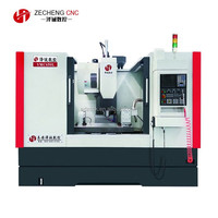 High rigidity vertical machining center Cheap Hobby Metal Aluminium Body 5 Axis 4 Axis 3 Axis Milling CNC Machine Center