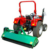 RIMA EFGCH mulch flail mower with hydraulic sides for tractor PTO drive / brush mower grass topper lawn mower with CE