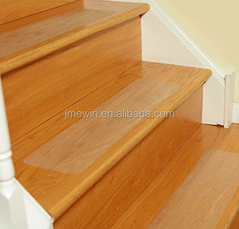 Pre Cut Transparent 24u0026quot;x 4u0026quot; Anti Slip Clear Tape Safety For Stair  Treads