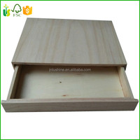 Wholesale Wood Match Box Unfinished Cheap Small Wooden Match Box