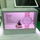 "10"" inch Transparent lcd display box for marketing your products vividly"