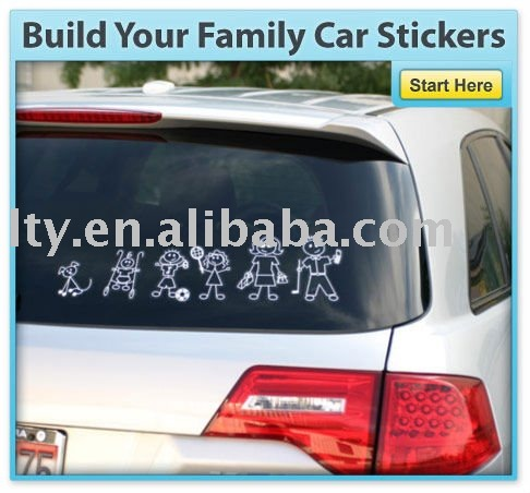 Family Car Window Sticker Family Car Window Sticker Suppliers And - Unique family car decals