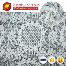 shaoxing textile polyester cold water soluble nonwoven embroidery lace fabric