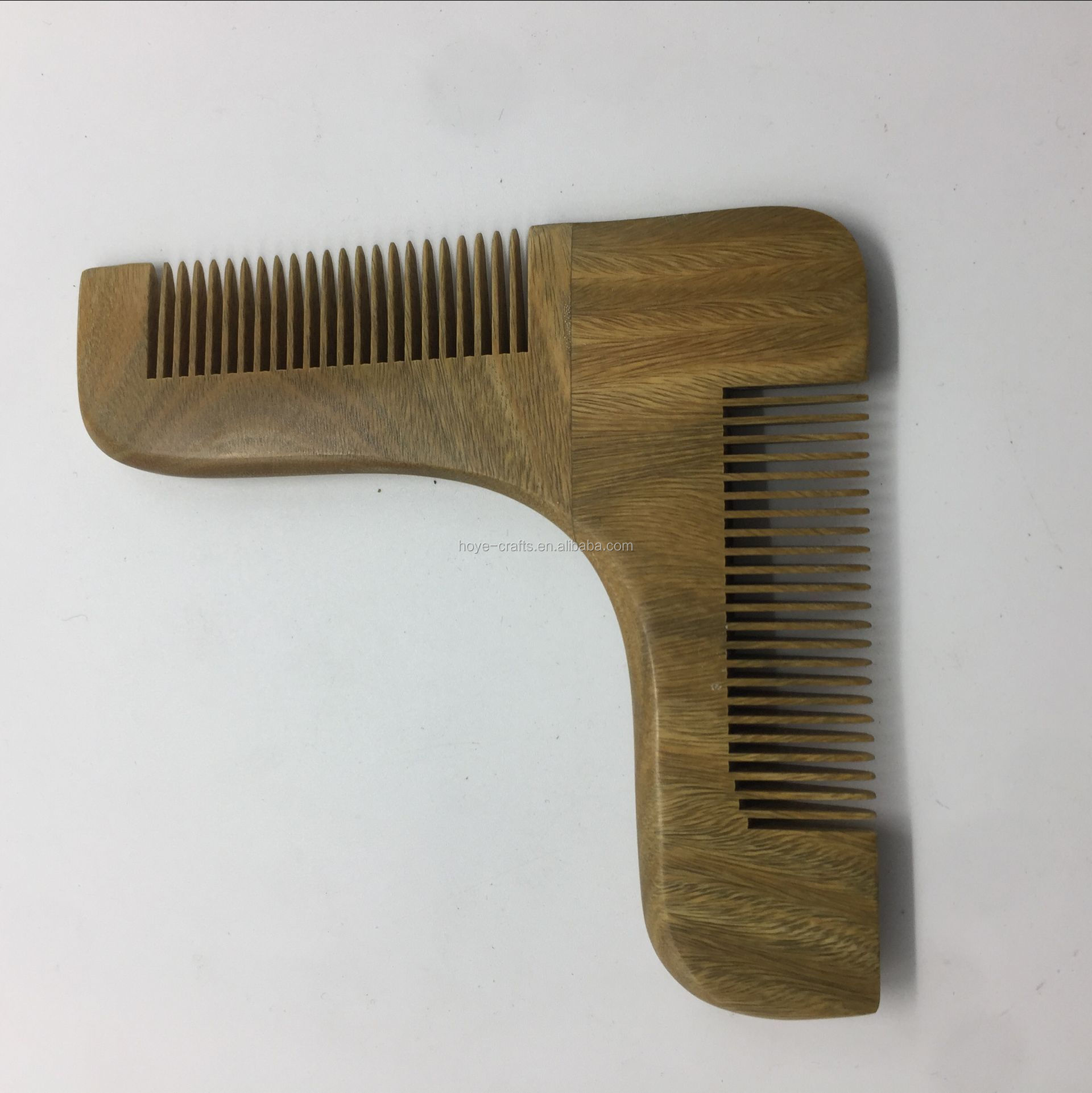 Beard grooming beard comb wooden shaving tool beard Comb sandalwood