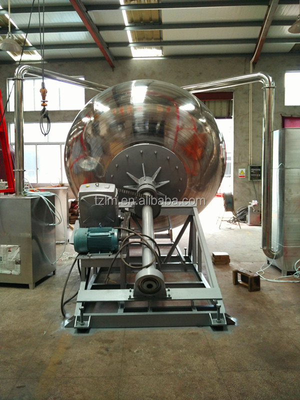 high efficient small candy tablet sugar coating pan machine with CE