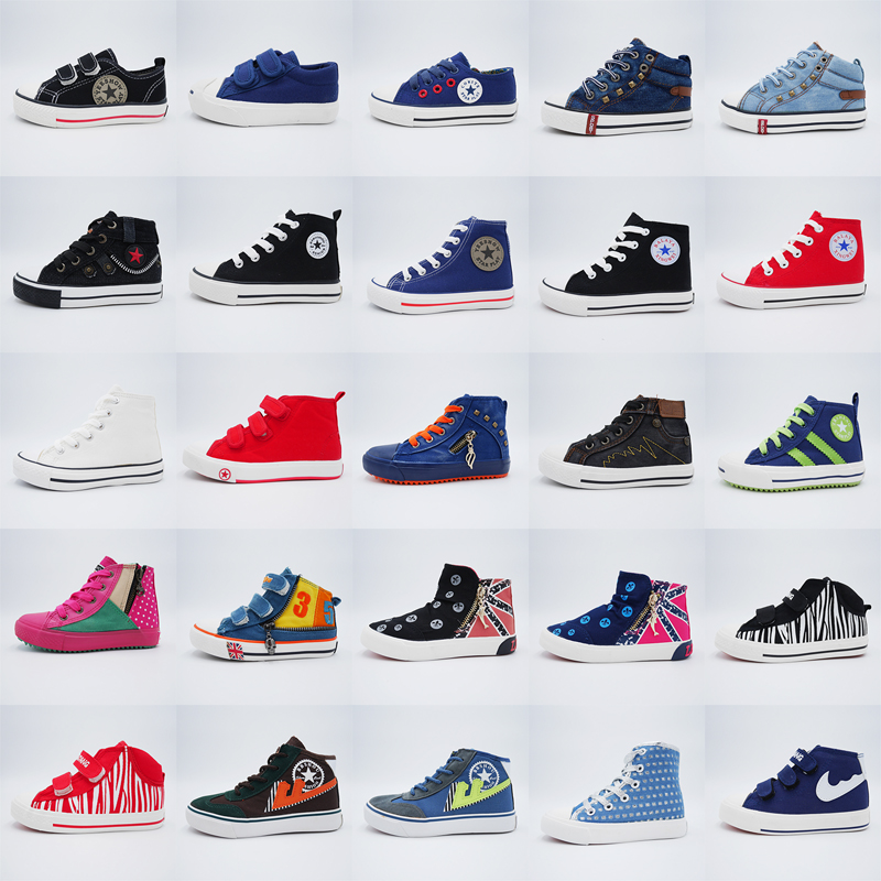 KMS1072 mixed kids canvas stock <strong>shoes</strong> one dollar <strong>shoes</strong> school children on clearance promotion