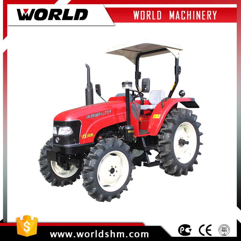china made 4WD 70HP agricultural garden farm tractor