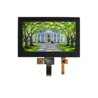 7.0 inch TFT LCD Display 1024*600, 4Lane MIPI Interface high brightness TFT LCD with capacitive touch panel NO MOQ