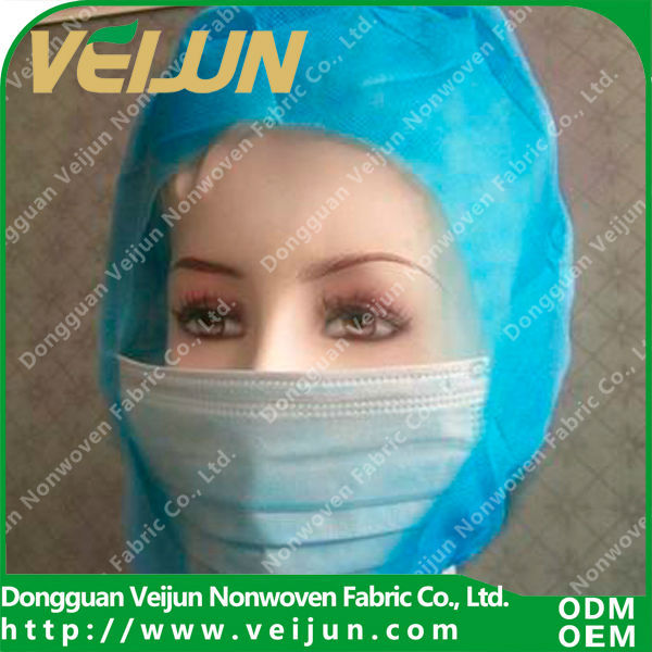 nonwoven materials to make hats for surgery