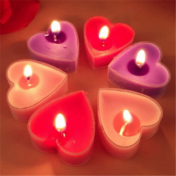 2017New Valentine's Day Decoration Tealight Candle