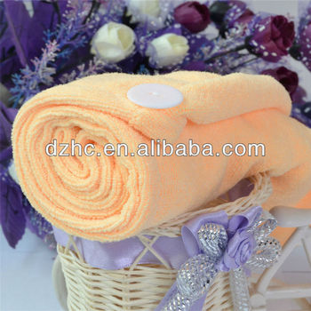 Microfiber Hair Wrap Towel Drying Bath Spa Head Cap Turban Wrap