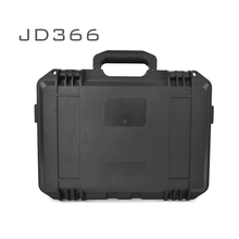 JIUDUO366 ABS Hard plastic professional waterproof workstation medical appliance dry lockable carrying tool case box with handle