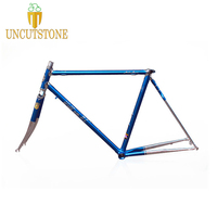 Road bike frame city bicycle frame 700C 4130 Chrome molybdenum steel vintage bike frame customized 50 cm 52 cm 54 cm 58cm