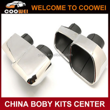 Top Quality Carbon 304 Stainless Steel Material V6 To V8 Exhaust Tips For Maserati Quattroporte