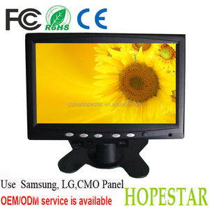 7 inch touch screen HD led monitor 7 inch tft display touch