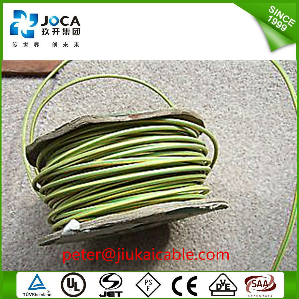 25mm Earth Cable/Yellow Green Grounding Cable/LSZH Earth Wire