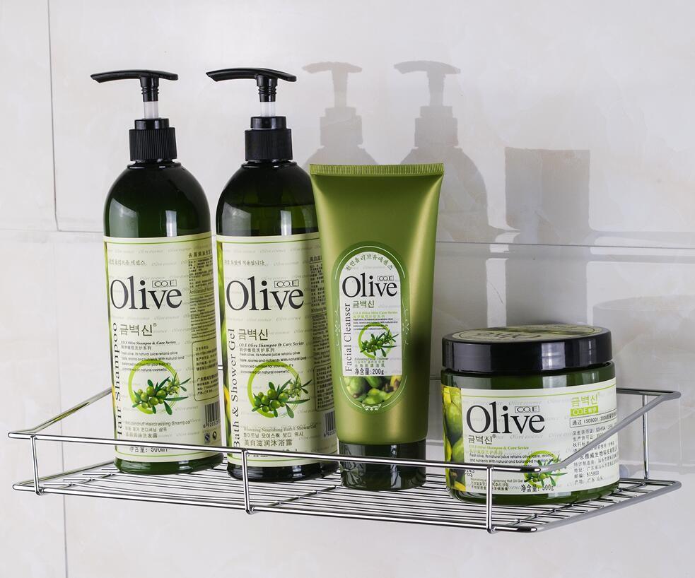Edelstahl Badezimmer Dusche Shampoo Und Seife Und Duschen Rack Korb