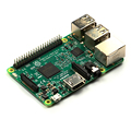 Raspberry Pi 3 Model B Controller A 1.2GHz 64-bit quad-core ARMv8 CPU